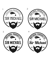 name style design 160 masculine conservative hair care product logo designs for sir