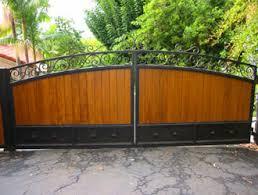orange county ca wrought iron entry gates decorative