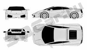 lamborghini gallardo blueprint чертеж lamborghini gallardo 3dcar ru 3d модели