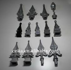 different decorative fence fittings fence spear aluminum post cap
