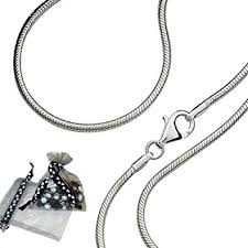silver chain necklace snake images Solid chain company 925 sterling silver 14 quot 16 quot 18 quot 20 quot inch 1mm jpg