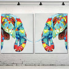 online get cheap elephant oil painting aliexpress com alibaba group