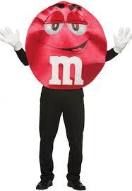m m halloween costume m u0026 m red costume deluxe quality fancy dress escapade uk