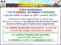 dispense haccp crit礙res microbiologiques et place des autocontr禊les ppt