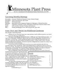 mn native plant society download fall 2009 minnesota plant press minnesota native plant