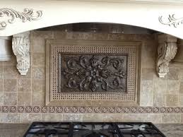 brilliant metal medallions for kitchen backsplash pertaining to