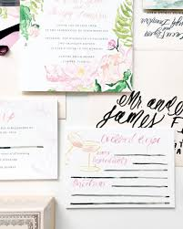the recipe for a wedding invitation suite u2014 simply jessica marie