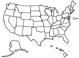 Us Map Outline Race To 270 August 2008