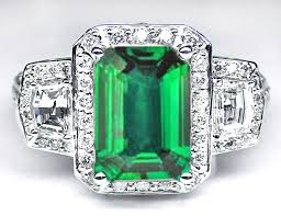 emerald stones rings images Gem stone european engagement rings from mdc diamonds nyc jpg