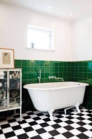 tile creative green tile bathroom home decoration ideas