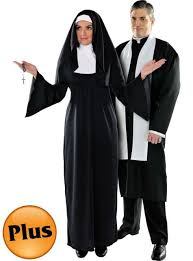 Halloween Costume Size Monk Costume Candy Apple Costumes Priest