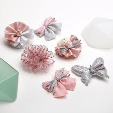 hair accessories for kids 6pcs highend handmade flowers butterfly kids hair children