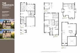 Tamarack Floor Plans by Remington Homes The Preserve Oakville Homes