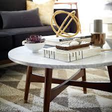 West Elm Bedside Table West Elm Marble Bedside Table Martini Side Brass Silver 38525