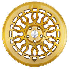 brushed gold radi8 r8a10 wheel 18 gold w brushed