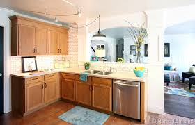 Great Ideas To Update Oak Kitchen Cabinets - Old oak kitchen cabinets