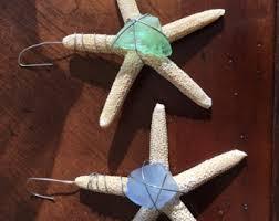 sea glass ornament etsy