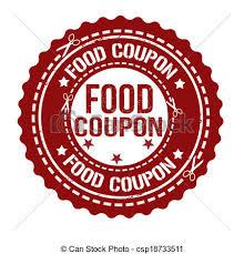 food coupons food coupon st food coupon grunge rubber st on white