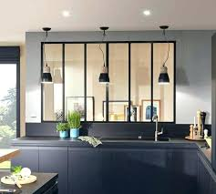 cuisine blanche sol noir cuisine noir et bois photo cuisine ambiance cuisine noir et
