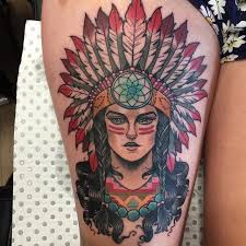 indian woman tattoo on thigh best tattoo ideas gallery
