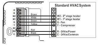 how to wire a thermostat wiring installation instructions endear