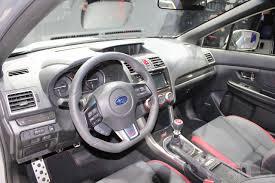 subaru wrx custom interior 2015 subaru wrx sti unveiled