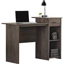 techni mobili double pedestal laminate computer desk chocolate computer office writing desks furniture staples