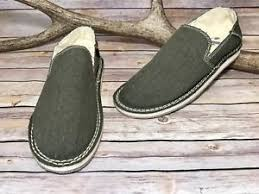 s justin boots on sale s justin boots brand olive green canvas slip on casual loafer