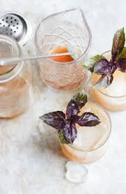 basil fig vodka smash recipe figs cocktail recipes and recipes