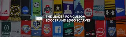 wholesale custom scarves and custom soccer scarves from sports scarf