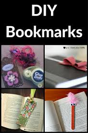 diy bookmark ideas for kids and adults p s i love you crafts