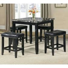 black marble dining table set faux marble dining set innovative ideas black marble dining table