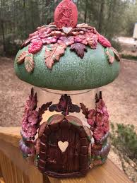 Mushroom Home Decor by Polymer Clay Tv U0026 Polymer Clay Productions Magical Fairy House