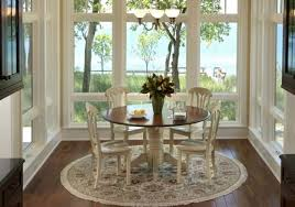round rugs for dining room dining room table rug what size rug do