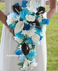 blue wedding bouquets blue wedding bouquets ideas inspirations 2269748 weddbook