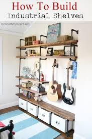 How To Build Bedroom Furniture by How To Build Industrial Shelves Industrial Shelves Industrial