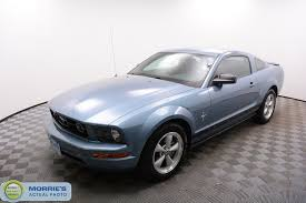 pre owned ford mustang pre owned 2007 ford mustang 2dr coupe deluxe coupe in minnetonka