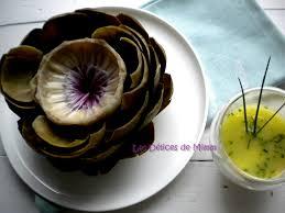cuisiner l artichaud l artichaut vinaigrette le préparer et le présenter les délices