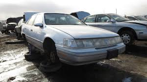 junkyard find 1989 mercury sable ls sedan