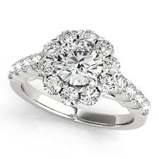 floral engagement rings from mdc diamonds nyc