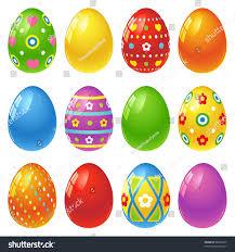 easter eggs stock vector 98056367 shutterstock
