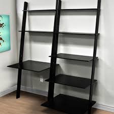 Best Computer Desks Best Computer Desk Shelf With Leaning Shelf Bookcase With Computer