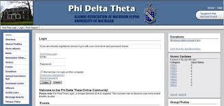alumni directory software alumni association of the michigan alpha chapter of phi delta