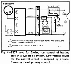 auto thermostat installation 3 wire high limit honeywell t87f