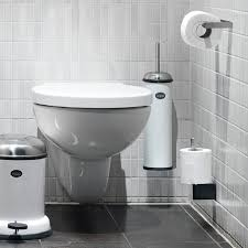 wall mounted stainless steel and rubber bathroom accessories