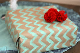Handmade Gift Wrapping Paper - homemade gift wrap home decorating interior design bath