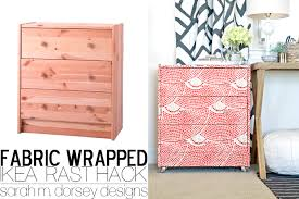 Ikea Rast Nightstand Sarah M Dorsey Designs Ikea Rast Dresser Hack Fabric Wrapped