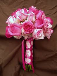 wedding flowers pink hot pink wedding flowers the wedding specialiststhe wedding