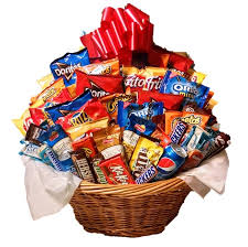 snack basket chocolate and snack gift baskets snack sler by m r designs