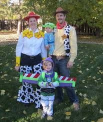 Woody Halloween Costumes 53 Family Halloween Costumes Pure Coordinated Joy Huffpost